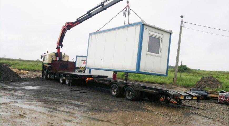 Transport kontenerów Katowice